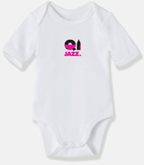 Body bébé BIO Cully Jazz Rose BR