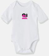 Body bébé BIO Cully Jazz Rose BR