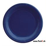 Pappteller g nstige preis for Pappteller blau