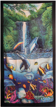 Strandtuch Delphin