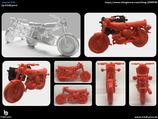 Simson S50 aus dem 3D Drucker
