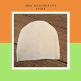 Lingette double face