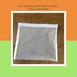 Sac congélation réutilisable  format moyen (1L)