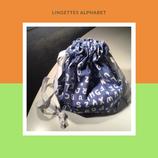 Lingettes alphabet