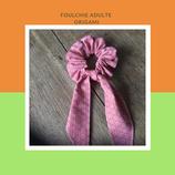 Foulchie adulte origami