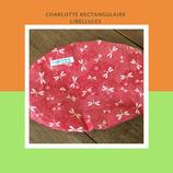Charlotte rectangulaire libellules