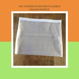 Sac congélation réutilisable grand  format (3L)