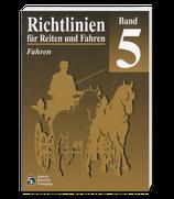 Richtlinien Band 5 - Fahren