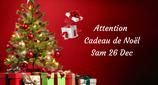 """201226 - Attention """"Cadeau de Noël"""""""