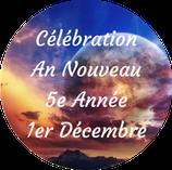 201201 - Célébration An Nouveau - 5e Année