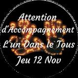 """201112 - Soin d'Accompagnement """"L'Un dans le Tous"""""""