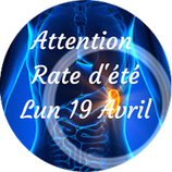 """210419 - Attention """"Rate d'été"""""""