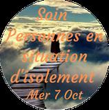 """201007 - Soin """"Personnes en situation d'isolement"""""""