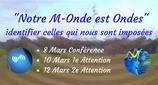 """210308 - Semaine Spéciale """"Notre M-onde est Ondes"""""""