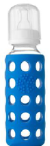 LIFEFACTORY Baby Bottle / Blau