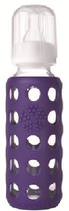LIFEFACTORY Baby Bottle /Violett