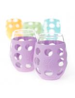 LIFEFACTORY GLASSES / 325ml / DUO lila