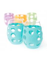 LIFEFACTORY GLASSES / 325ml / DUO türkis