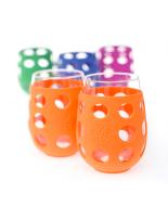 LIFEFACTORY  GLASSES 5dl  / DUO orange