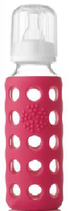 LIFEFACTORY Baby Bottle / Pink