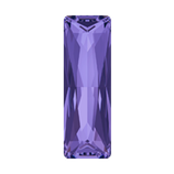 Cabochon Princess Baguette (4547) )Swarovski  21x7mm Tanzanite