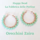 Kit Wire Orecchini Zaira versione Verde Menta Opaco