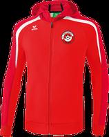 ERIMA Liga Line 2.0 Kapuzen-Trainingsjacke Fb. rot/weiß (1071841) (FVE)