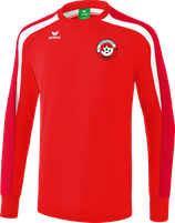 ERIMA Liga 2.0 Sweatshirt Fb. rot/weiß (107861) (FVE)