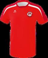 ERIMA Liga 2.0 T-Shirt Fb. rot/weiß (1081821) (FVE)