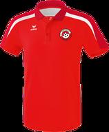 ERIMA Liga 2.0 Polo-Shirt Fb. rot/weiß (1111821) (FVE)