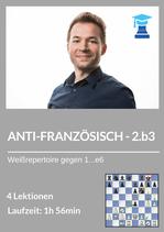 ANTI-FRANZÖSISCH mit 2.b3