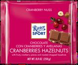 Ritter Sport Chocolate con leche, arándanos y avellanas