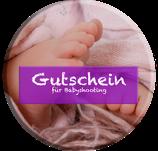 Gutschein für ein Babyfotoshooting