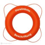 Rettungsring Orange 60 cm / 75 cm Besto mit Beschriftung