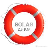Rettungsring Orange SOLAS 75 cm 2,5 kg