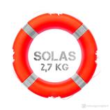 Rettungsring Orange SOLAS 61 cm 2,7 kg