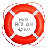 Rettungsring Orange SOLAS 75 cm 4,5 kg