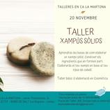 TALLER de Xampús Sòlids