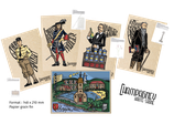 Lot 5 Cartes luxe