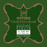 Optima (ex Lenzner) Violine Goldbrokat PREMIUM 24 KARAT GOLD E1