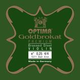 Optima (ex Lenzner) Violine Goldbrokat PREMIUM E1
