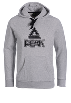 PEAK Big Logo Hoody Grey