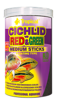 CICHLID RED & GREEN MEDIUM STICKS
