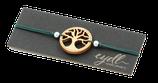 Armband mit Holzornament -  Yggdrasil