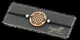 Armband mit Holzornament -  Blume des Lebens