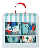 KIT CUPCAKES + TOPPERS BEBÉ