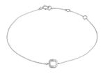 Momentoss Armband 14K weißgold mit 0.03CT Brillant