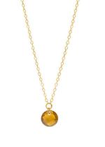 Momentoss Halskette 18K gelbgold, Turmalin