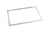 TELAIO INOX , dimensioni 570 x 370 mm , 61 x 41 x H 3 cm , confezione 1 pz .