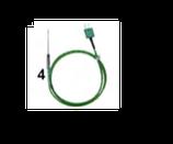 SONDA CABLATA CON TERMO PROTEZIONE - 50 / + 250 °C , 60 mm , confezione 1 pz .